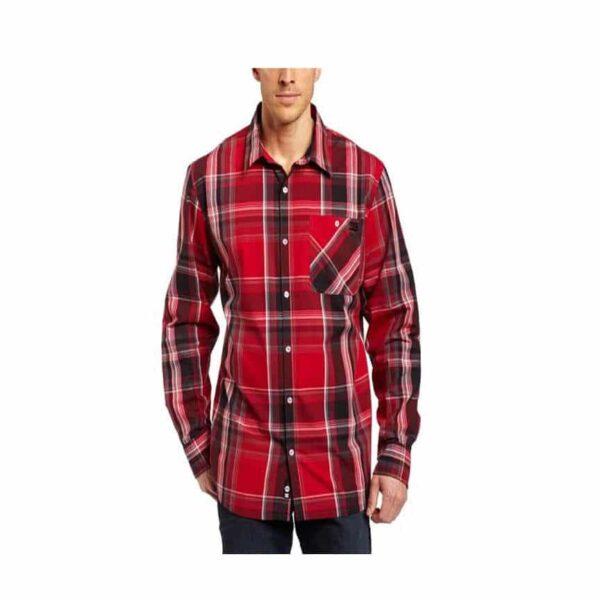 DC Mens fos long sleeve shirt