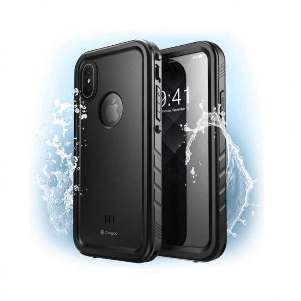 iPhone XS Max Omni Waterproof Case with Screen Protector