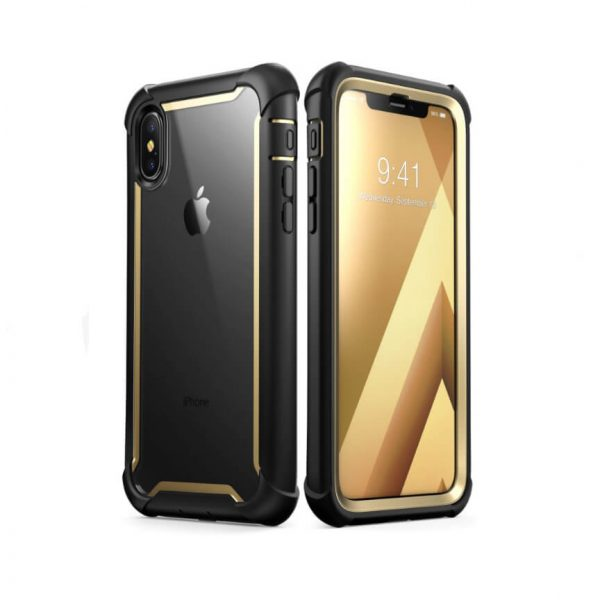 iPhone Xs Ares Clear Case with Screen Protector 3
