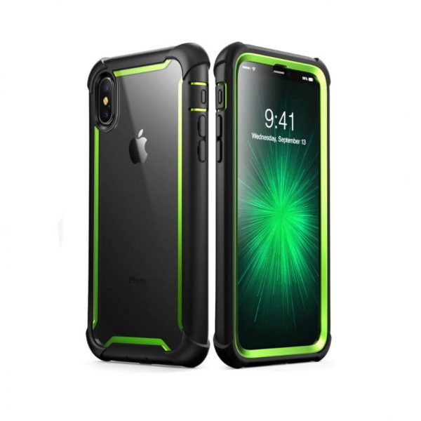 iPhone Xs Ares Clear Case with Screen Protector