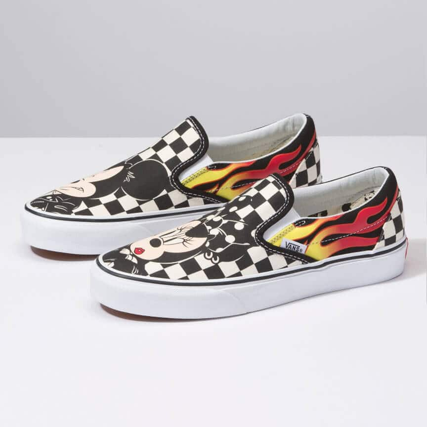 Disney Slip Exclusive Classic Exclusivos On Vans X Modelos Shop 7vvqAgU