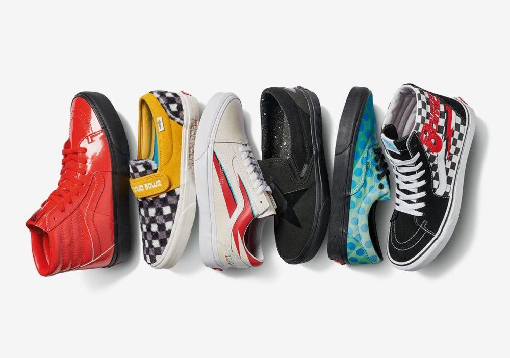 david bowie vans shoes release info