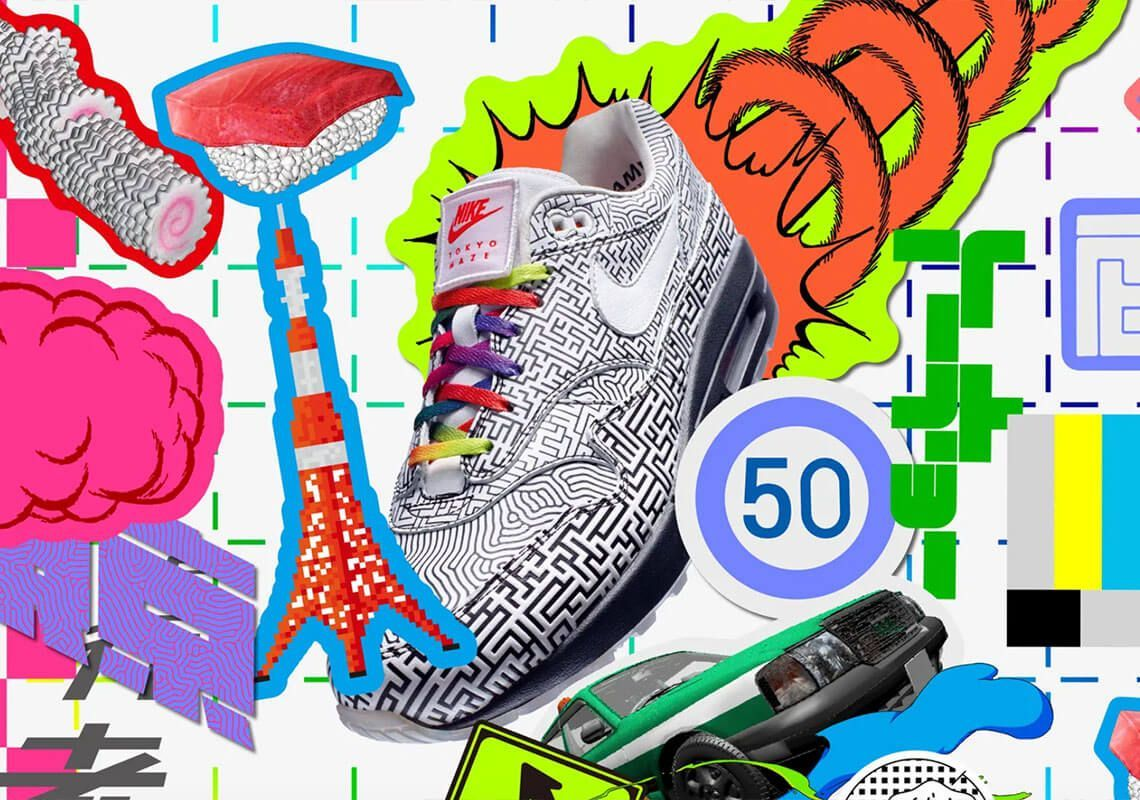 nike air max 1 on air tokyo maze snkrs release date