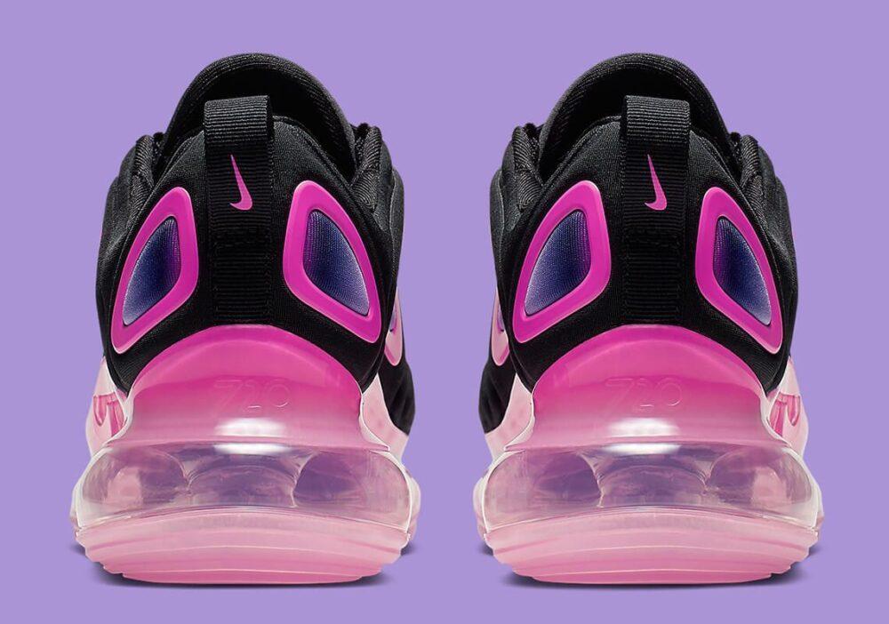 nike air max 720 kids black pink 3196 007 4