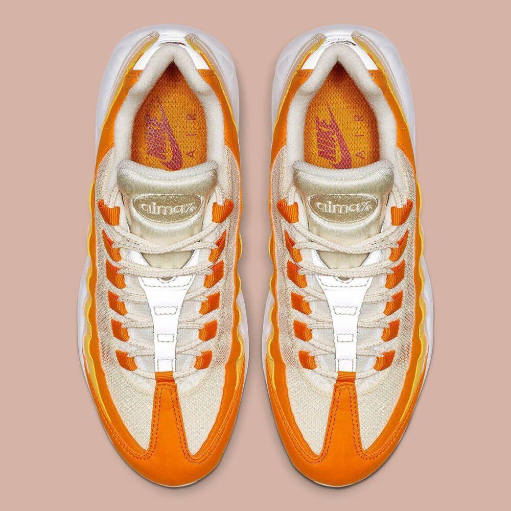 nike air max 95 ivory orange 307960 114 4