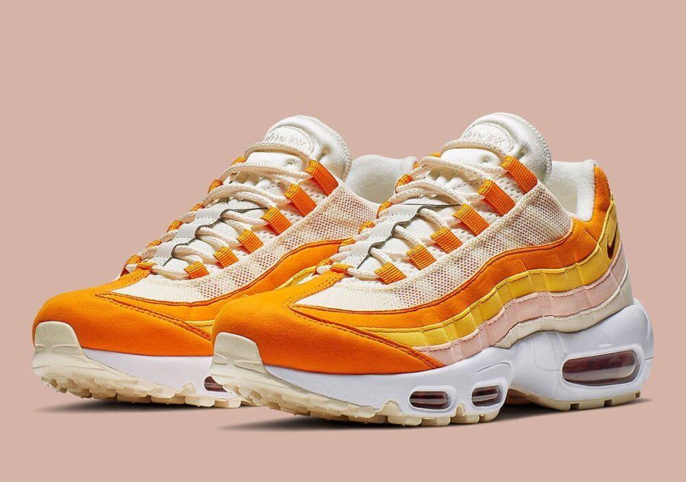 nike air max 95 ivory orange 307960 114 6