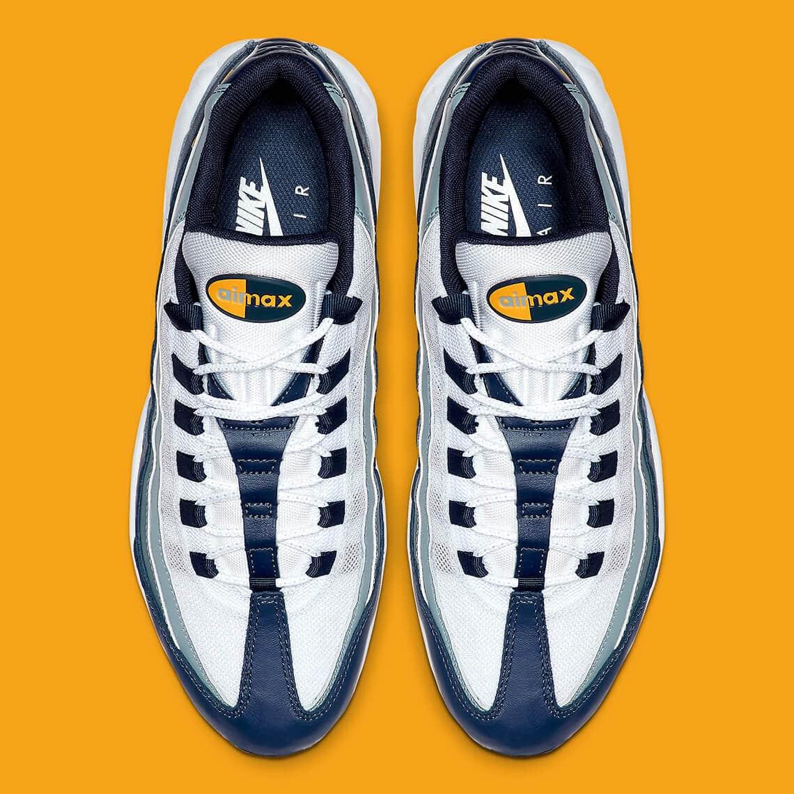 nike air max 95 navy orange aj2018 401 5