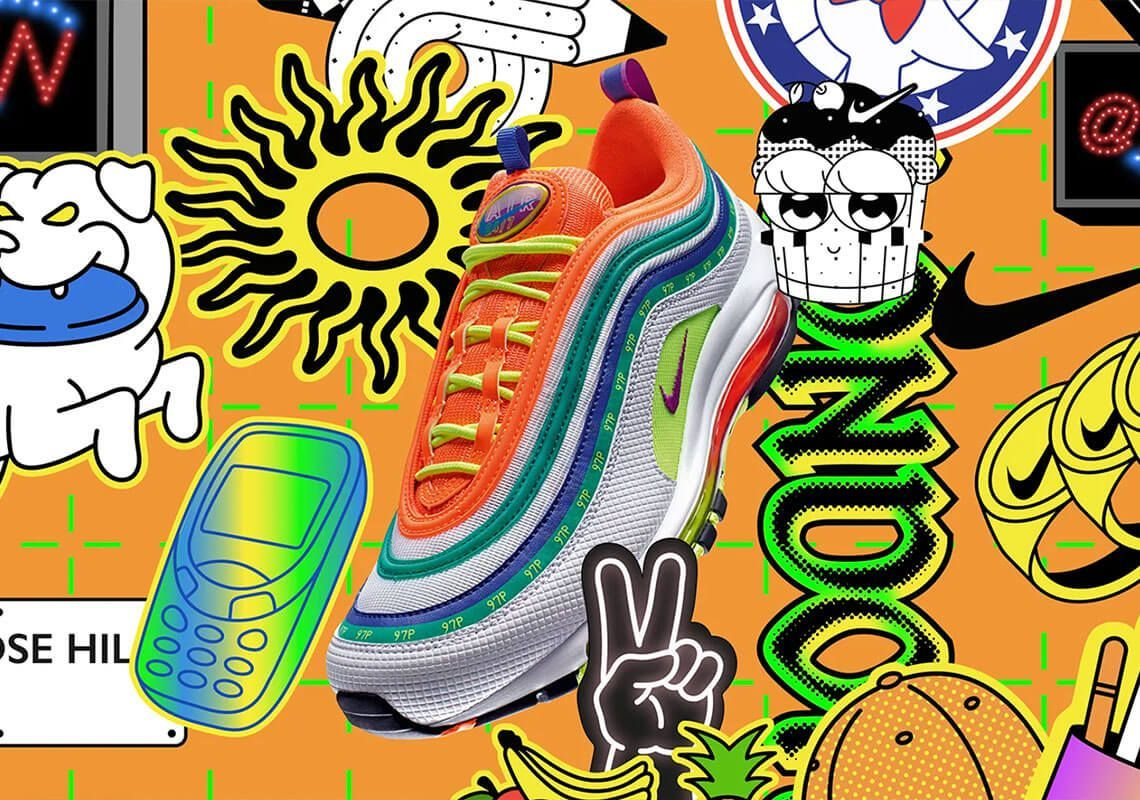 nike air max 97 on air london summer of love snkrs release date
