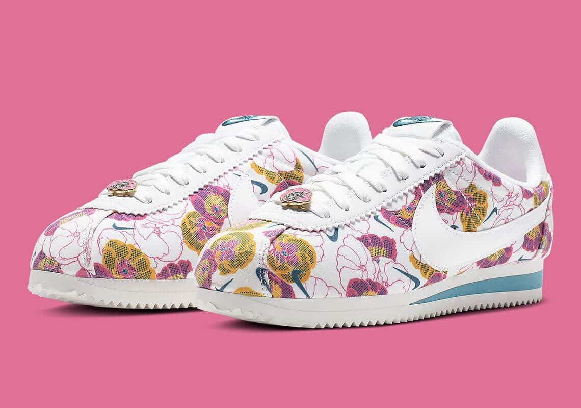 nike cortez wmns floral pack white AV1338 100 6
