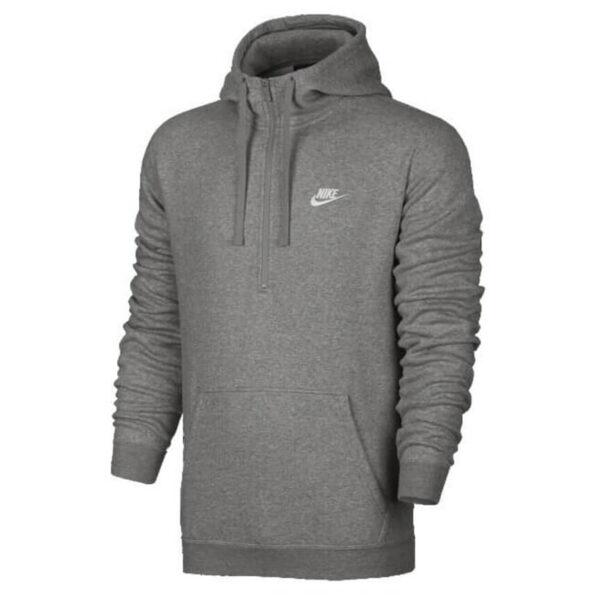 Nike Club Half Zip Fleece Hoodie