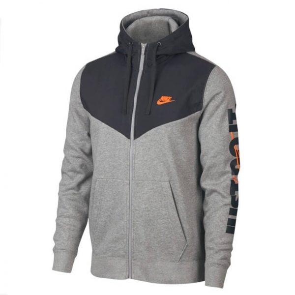 Nike JDI Fleece Full Zip Hoodie 11