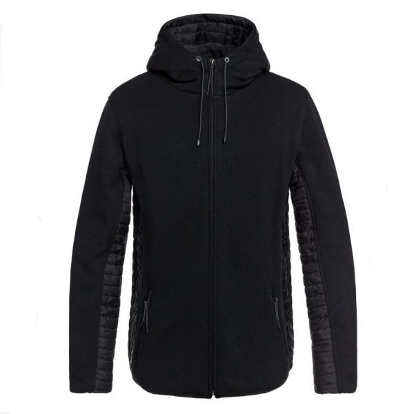 quiksilver Keller Puff Zip Hooded Fleece