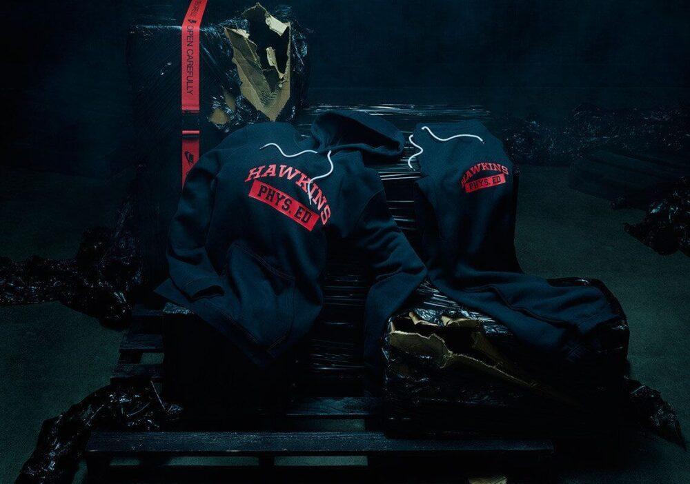 stranger things nike og pack navy red independence day apparel