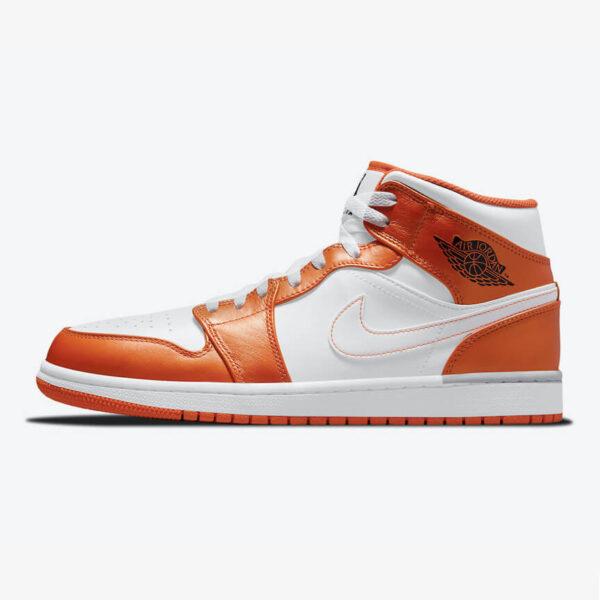 Air Jordan 1 Mid Metallic Orange 1