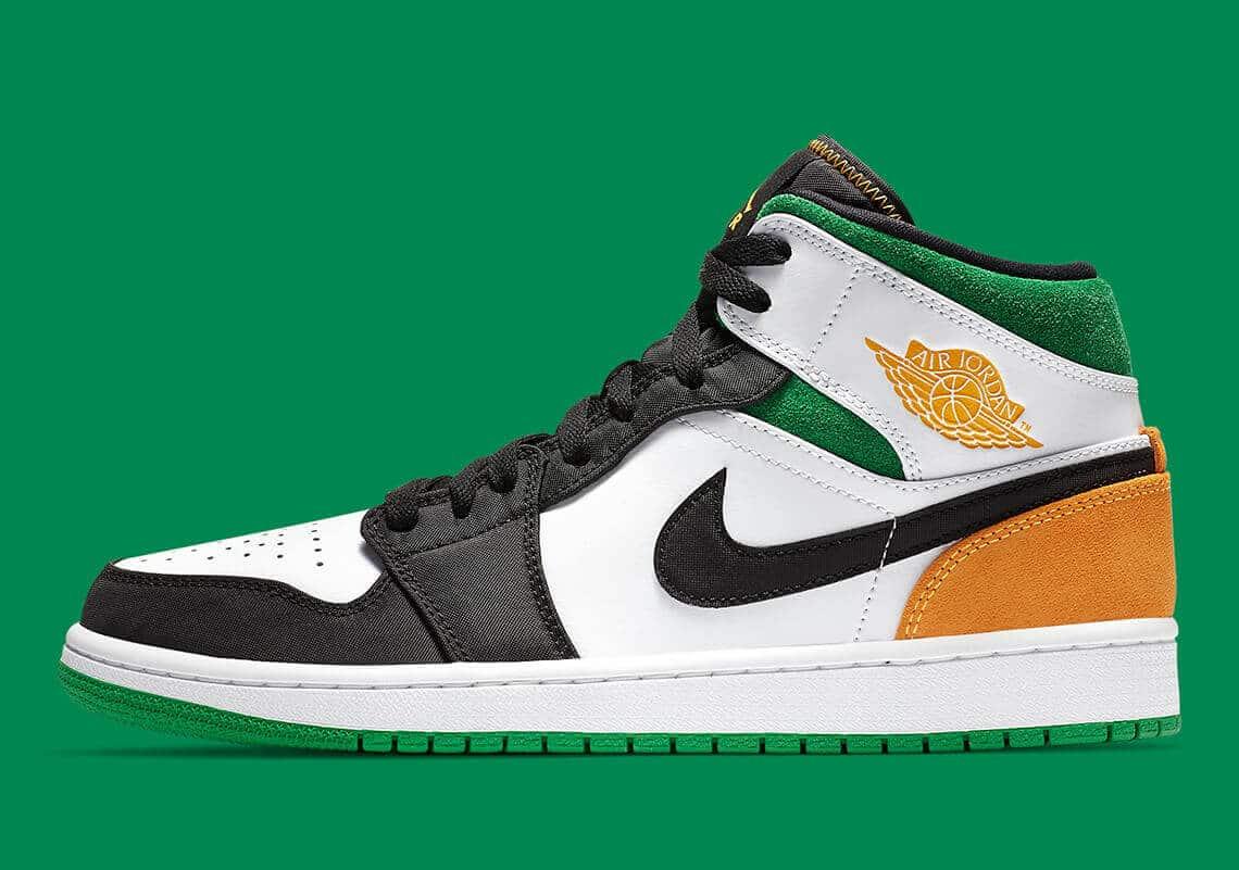 Air Jordan 1 Mid Oakland 852542 101 Release Info 1