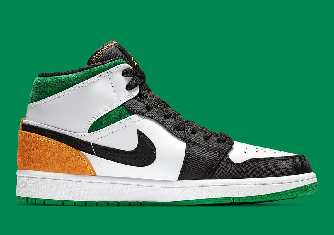 Air Jordan 1 Mid Oakland 852542 101 Release Info 3 1