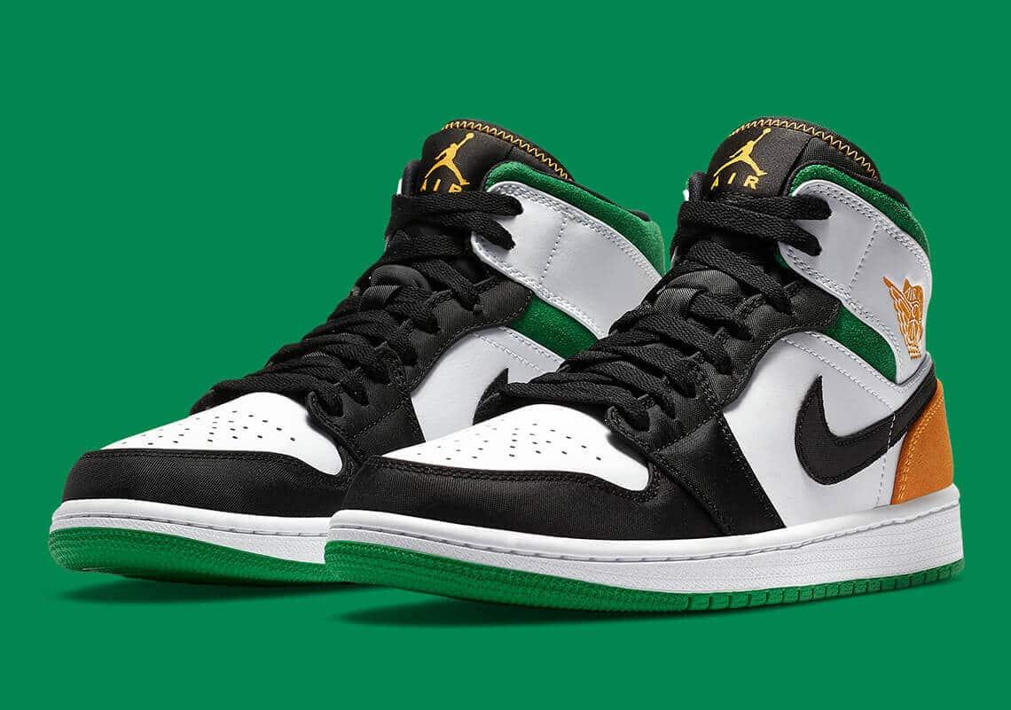 Air Jordan 1 Mid Oakland 852542 101 Release Info 5 1