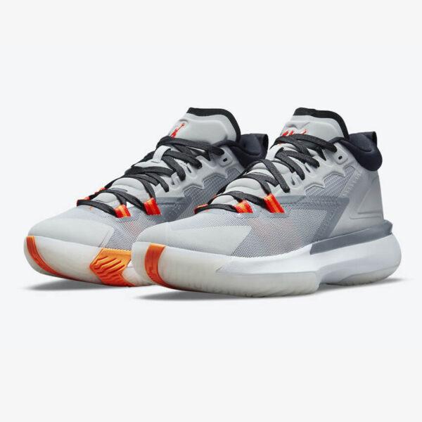 Air Jordan Zion 1 Light Smoke Grey 1