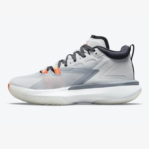 Air Jordan Zion 1 Light Smoke Grey