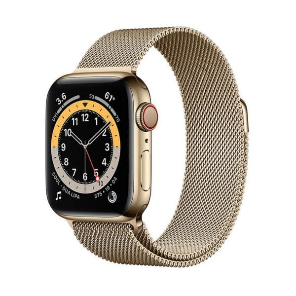 Apple Watch Series 6 with Milanese Loop 3