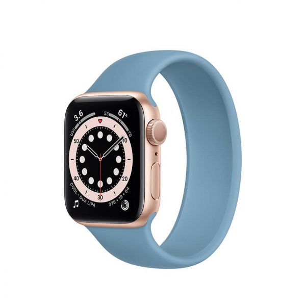 Apple Watch Series 6 with Solo Loop Gold 11