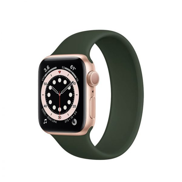 Apple Watch Series 6 with Solo Loop Gold 13