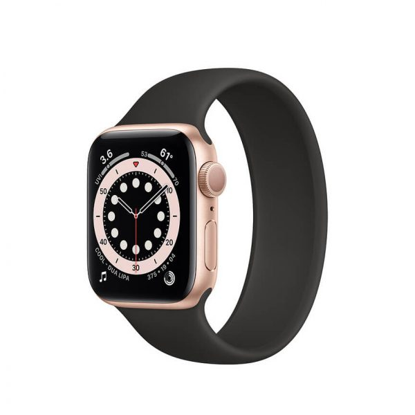 Apple Watch Series 6 with Solo Loop Gold 3