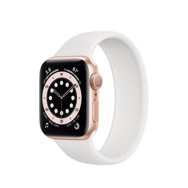 Apple Watch Series 6 with Solo Loop Gold 4