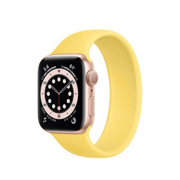 Apple Watch Series 6 with Solo Loop Gold