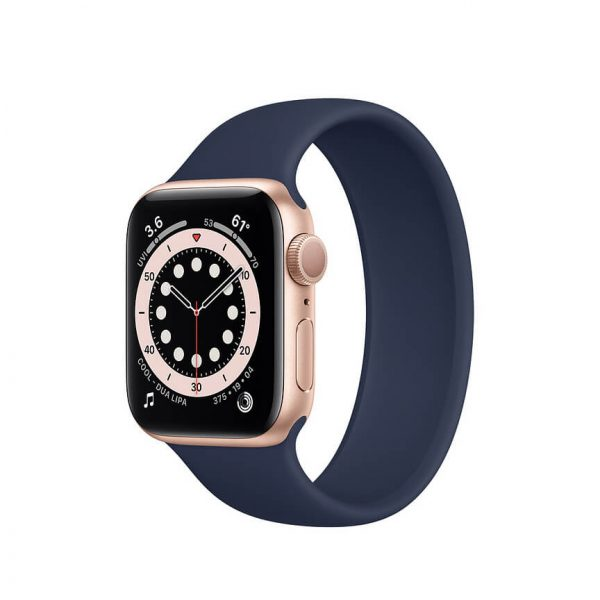 Apple Watch Series 6 with Solo Loop Gold 7