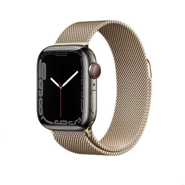 Apple Watch Series 7 Graphite Stainless Steel 1
