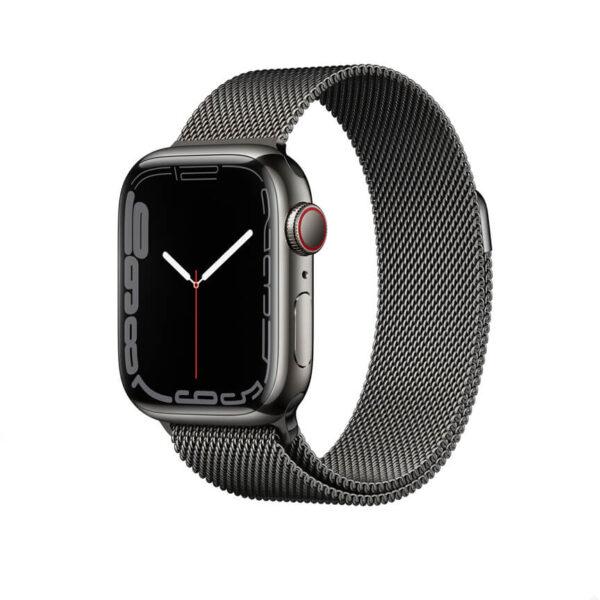 Apple Watch Series 7 Graphite Stainless Steel 2