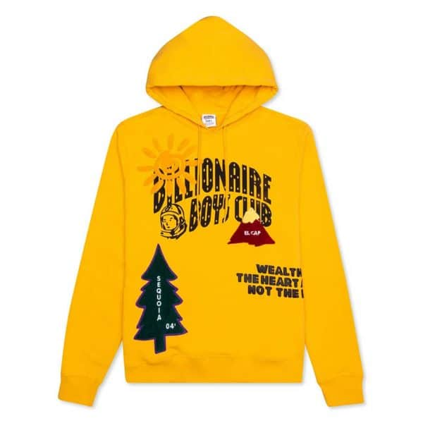 BILLIONAIRE BOYS CLUB BB PEAK HOODIE 1