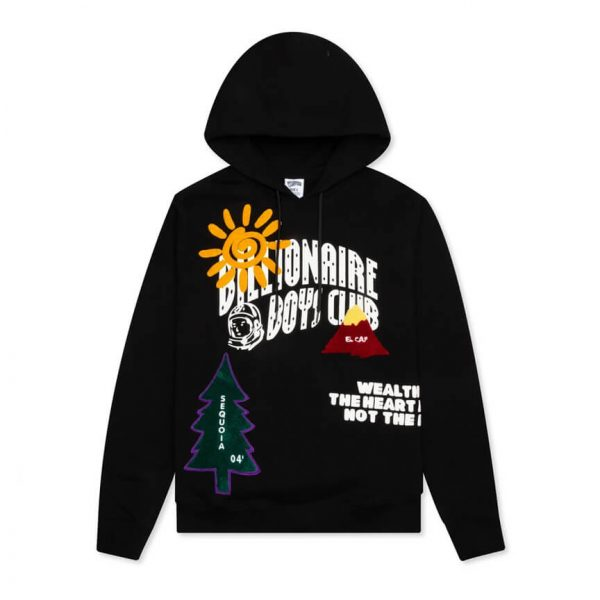BILLIONAIRE BOYS CLUB BB PEAK HOODIE 3