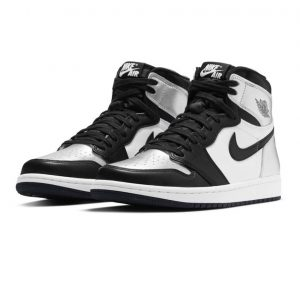Jordan 1 Retro High Silver Toe 1