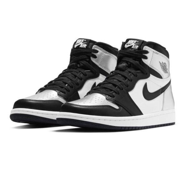 Jordan 1 Retro High Silver Toe 1