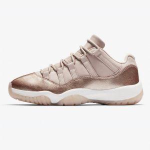 Jordan 11 Retro Low Rose Gold