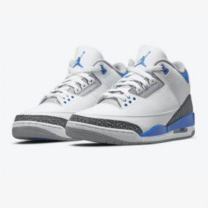 Jordan 3 Retro Racer Blue 1