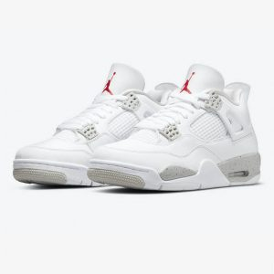 Jordan 4 Retro White Oreo 1