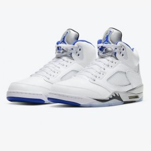Jordan 5 Retro White Stealth 1