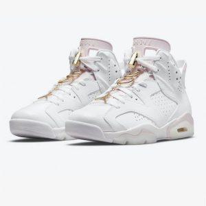 Jordan 6 Retro Gold Hoops 1