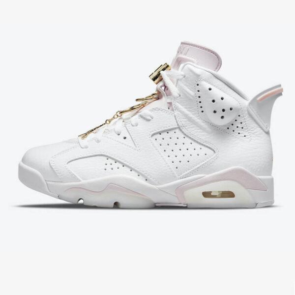 Jordan 6 Retro Gold Hoops