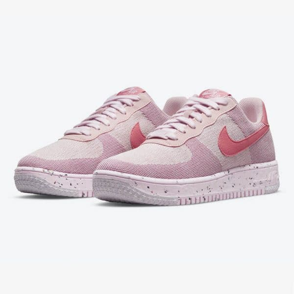 Nike Air Force 1 Crater Flyknit Pink 1