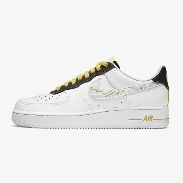 Nike Air Force 1 Low Gold Link Zebra 1