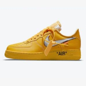 Nike Air Force 1 Low OFF WHITE University Gold