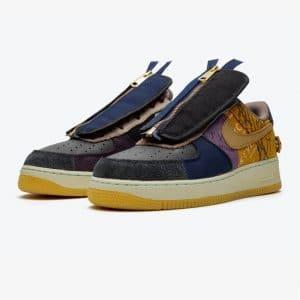 Nike Air Force 1 Low Travis Scott Cactus Jack 1