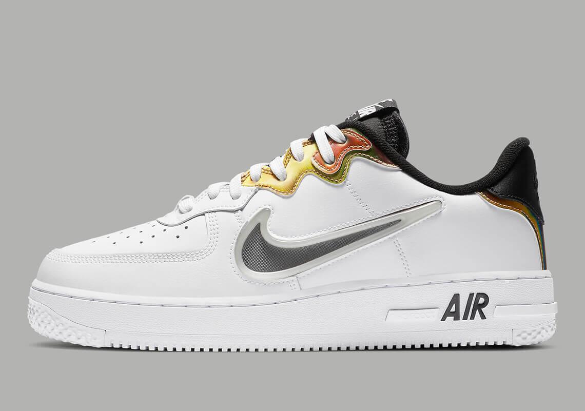 Nike Air Force 1 React CN9838 100 1