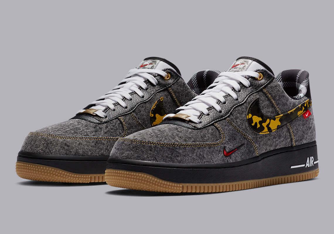 Nike Air Force 1 Remix Pack Denim DB1964 001 2