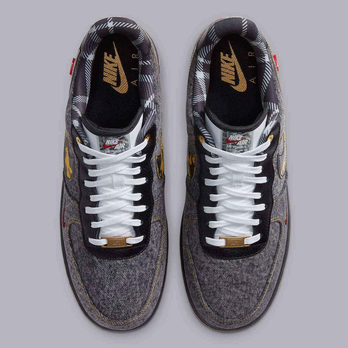 Nike Air Force 1 Remix Pack Denim DB1964 001 4