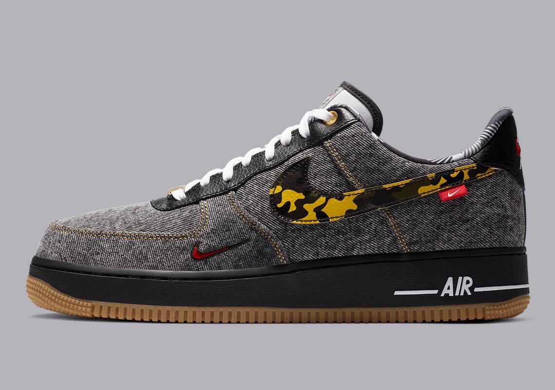 Nike Air Force 1 Remix Pack Denim DB1964 001 8